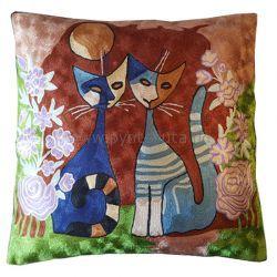 Pyntepute To blå katter